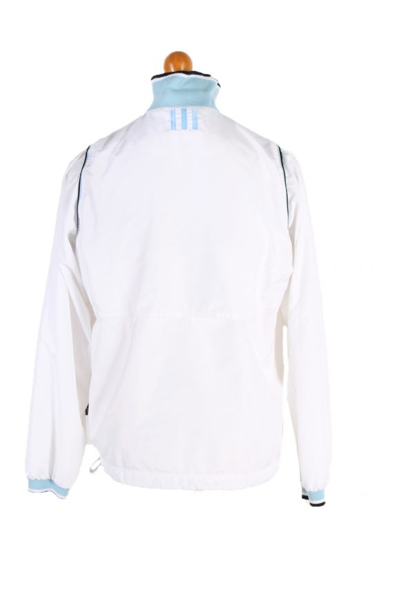 Vintage Adidas Long Sleeve Tracksuit Top L White -SW1931-83513
