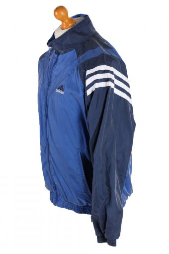 Vintage Adidas Long Sleeve Tracksuit Top XL Blue -SW1934-83412