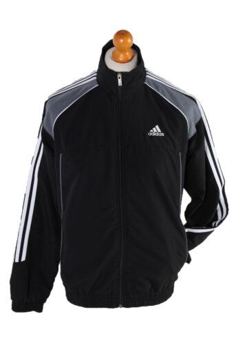Adidas Long Sleeve Track Top Black S