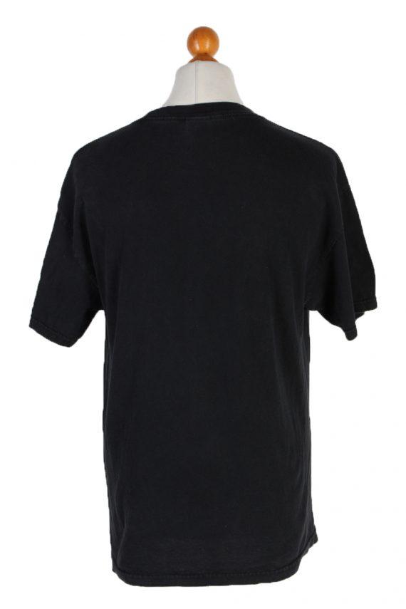 Vintage Tenessee River T-Shirt L Black TS094-81866