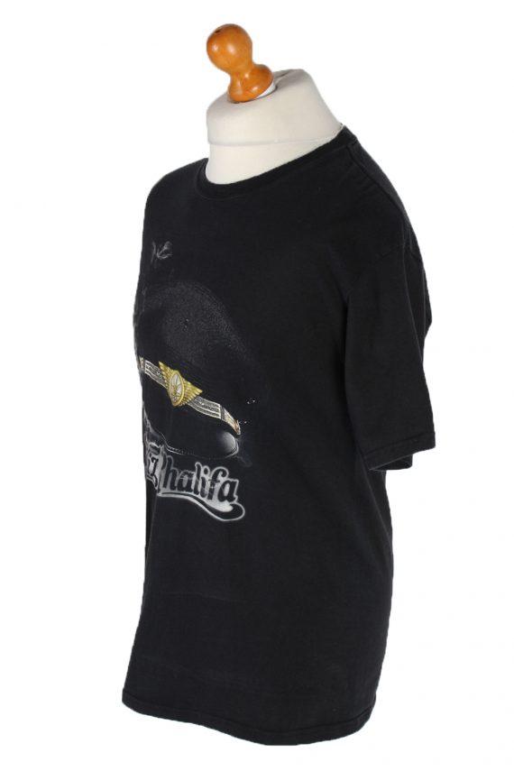 Vintage Hanes T-Shirt M Black TS103-81901