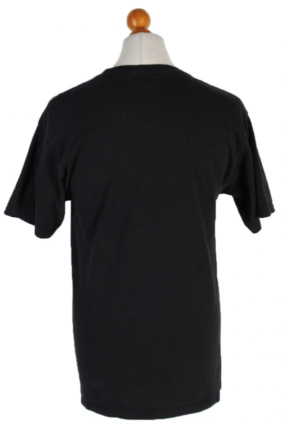 Vintage Hanes T-Shirt M Black TS103-81902