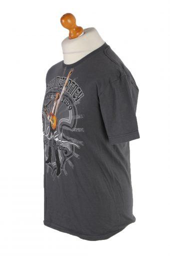 Vintage American Apparel Short Sleeve Shirt M Grey TS128-82605