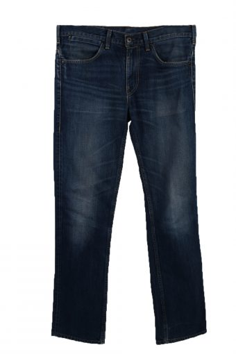 Levi's Classic Designer Jeans 90's Unisex Casuals Waist 34 Navi