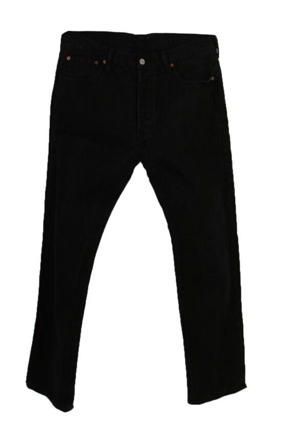 Vintage Levi's Classic Designer Jeans 33 Black J3202-0