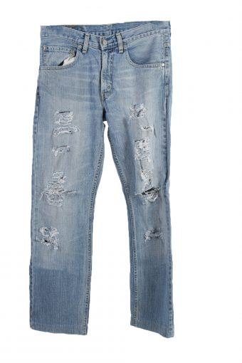Levi's 752 label Ripped Faded Unisex Jeans W31 L34