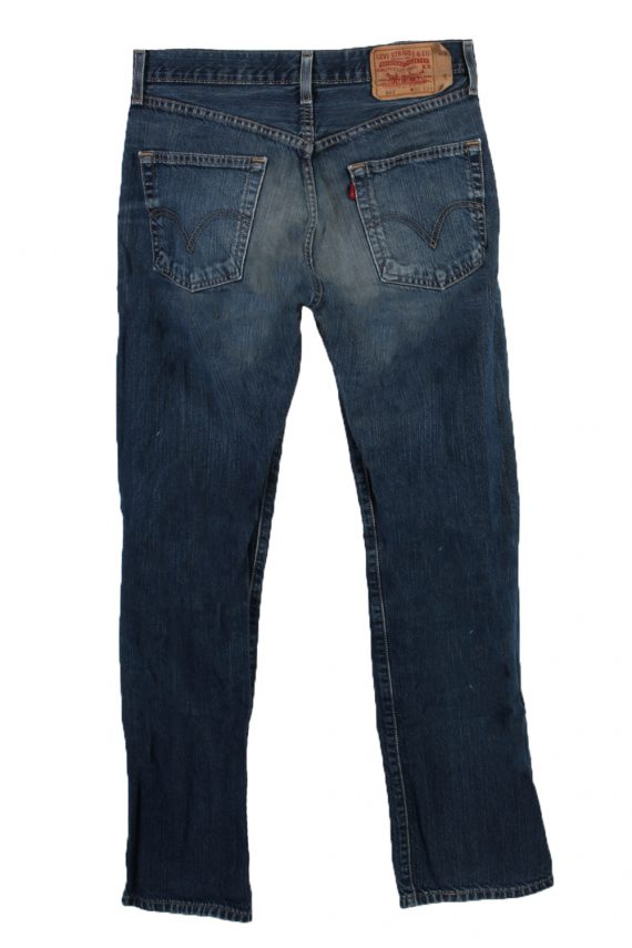 Vintage Levi's 501 Red label Ripped Faded Unisex Jeans W32 L34 Blue J3280-85005
