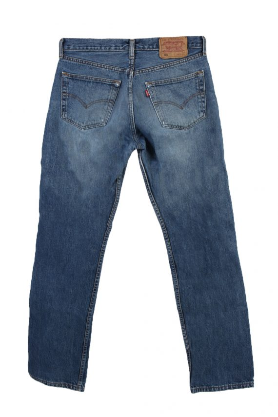 Vintage Levi's 501 Red label Ripped Faded Unisex Jeans W32 L32 Blue J3300-85085