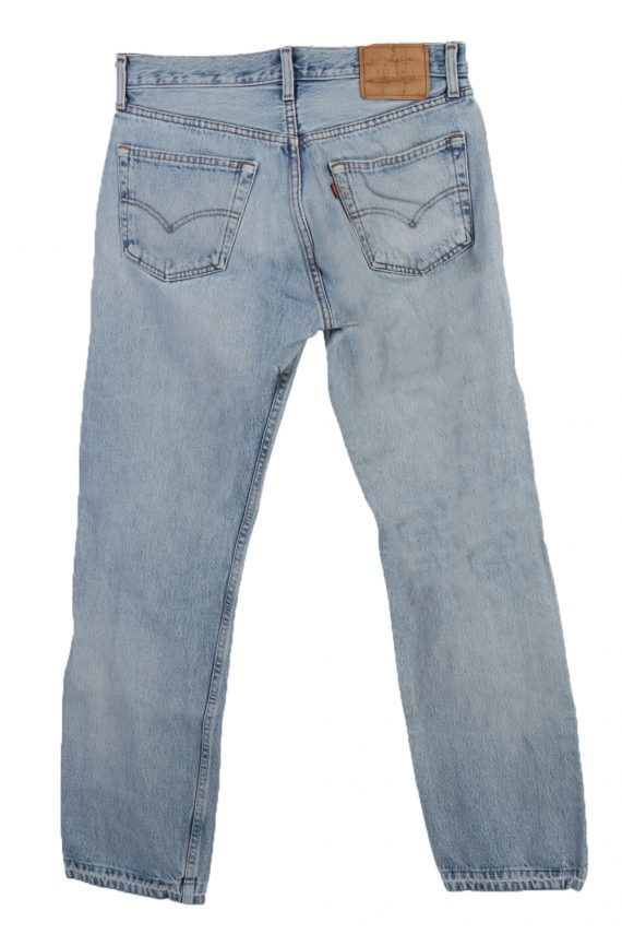 Vintage Levi's Red label Ripped Faded Unisex Jeans W33 L30 Blue J3302-85093