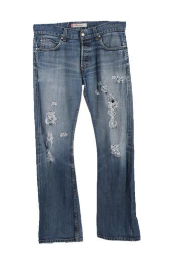 Levi's 512 Denim Jeans Straight Mens W36 L36
