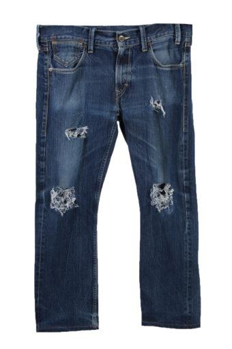 Levi's 522 Denim Jeans Ripped Mens W38 L30