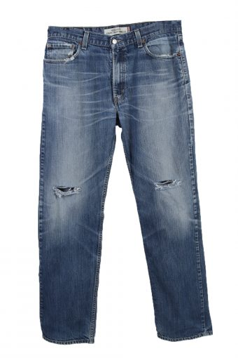 Levi's Lable Ripped Faded Unisex Jeans, Pepper Tree