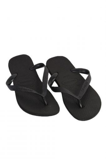 Vintage Havaianas  Flip Flop E43/44 USA9 Black