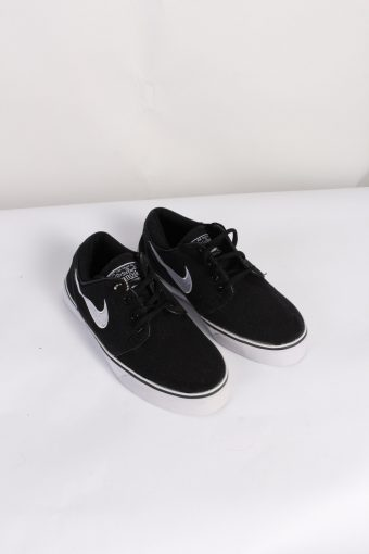 Vintage Nike Janoski Shoes UK 3 Black