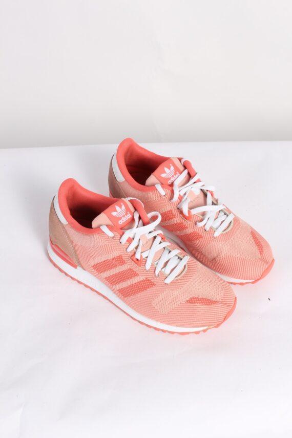 Vintage Adidas Three Stripes Shoes UK 5.5 Pink S452-0