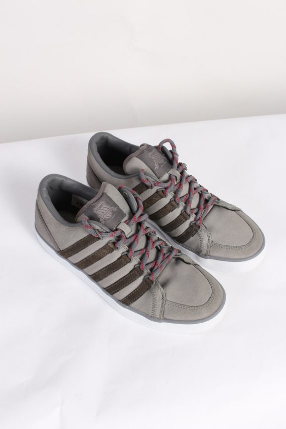 Vintage K-Swiss California Tennis Shoes UK 7.5 Grey S463-0