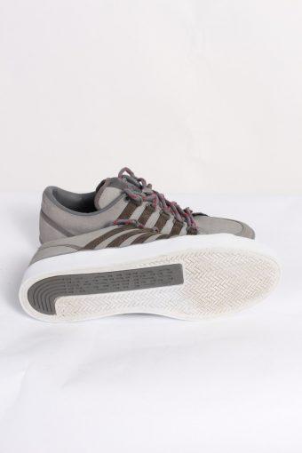 Vintage K-Swiss California Tennis Shoes UK 7.5 Grey S463-86320