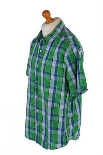Vintage Timberlan Short Sleeve Shirt XL Multi SH3336-85596