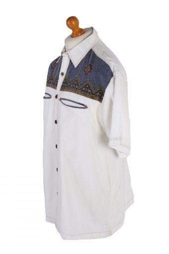 Vintage John F Gee Short Sleeve Shirt XL Multi SH3340-85612