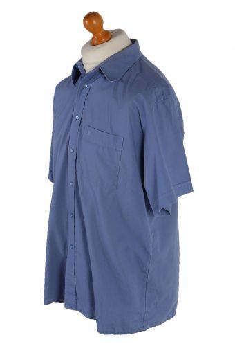 Vintage Pierre Cardin Short Sleeve Shirt XXL Blue SH3346-85636