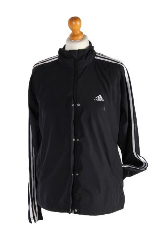 Adidas Stripe Track Top Black L
