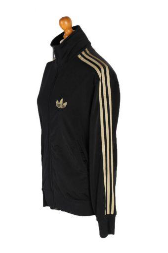Vintage Adidas 3 Stripe Tracsuit Top XL Black -SW1918-92667
