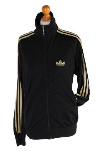 Adidas Stripe Track Top Black S