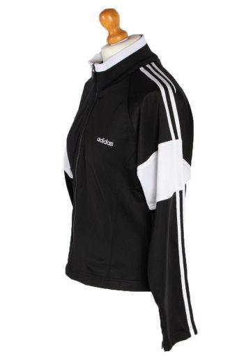 Vintage Adidas Outdoor Tracsuit Top L Black -SW1915-92647