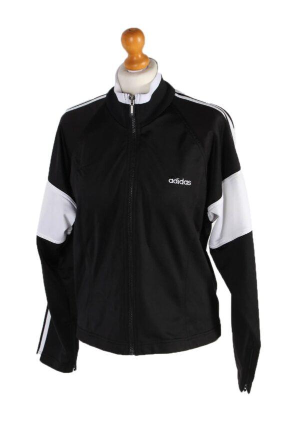 Vintage Adidas Outdoor Tracsuit Top L Black -SW1915-0