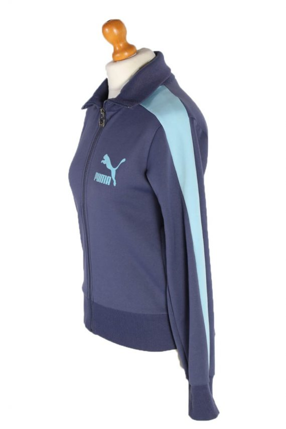 Vintage Puma Sport Tracsuit Top M Blue -SW1906-92613