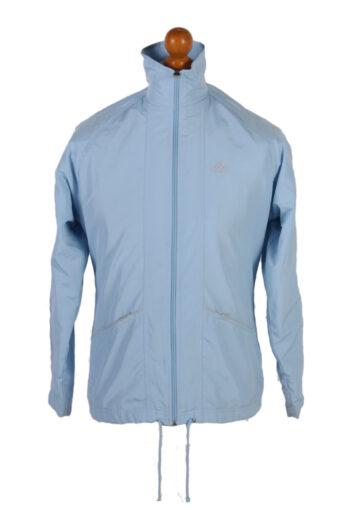Adidas Three Stripes Long Sleeve Track Top Turquoise M