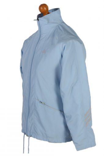 Vintage Adidas Three Stripes Long Sleeve Tracksuit Top M Turquoise -SW1962-85352