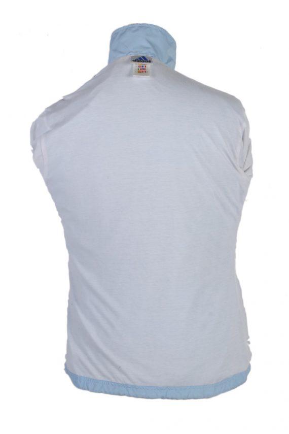Vintage Adidas Three Stripes Long Sleeve Tracksuit Top M Turquoise -SW1962-85354