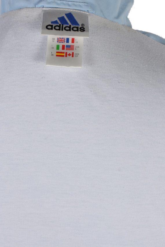 Vintage Adidas Three Stripes Long Sleeve Tracksuit Top M Turquoise -SW1962-85355