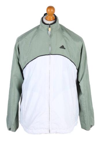 Adidas Three Stripes Long Sleeve Track Top L