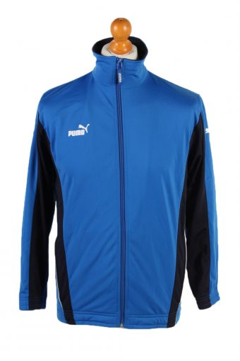 Puma Long Sleeve Track Top Blue M