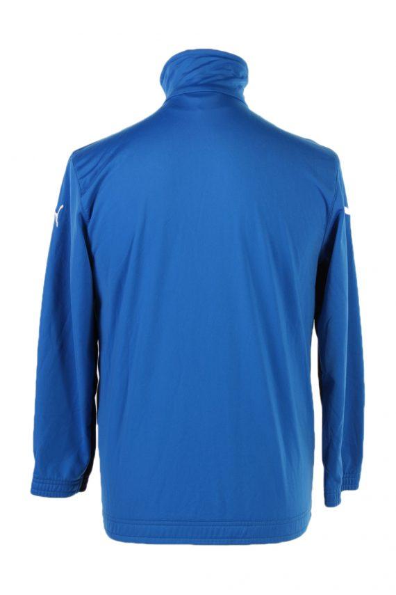 Vintage Puma Long Sleeve Tracksuit Top S Blue -SW1973-85408