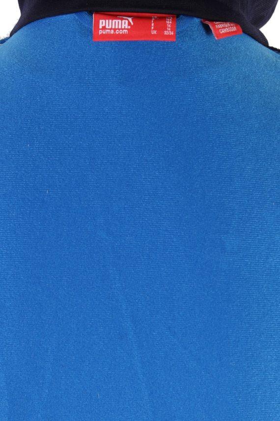 Vintage Puma Long Sleeve Tracksuit Top S Blue -SW1973-85410