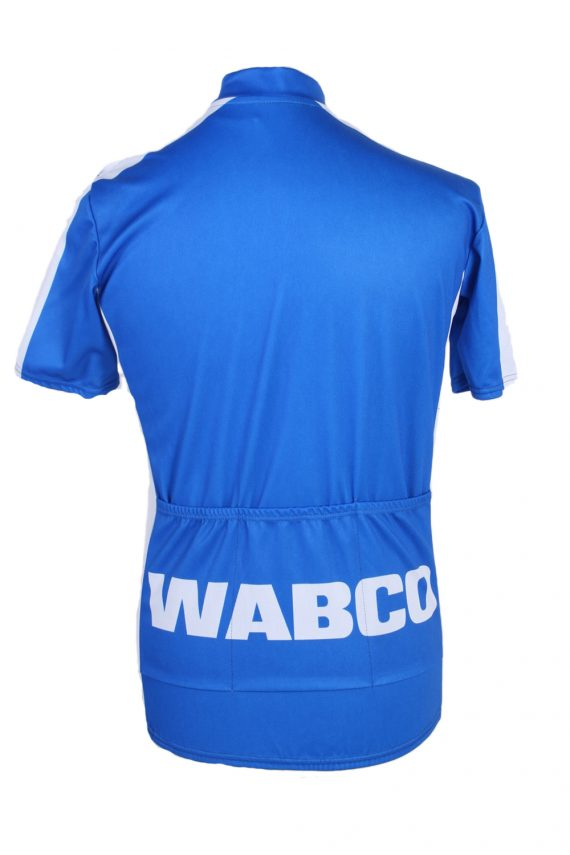 Vintage Wabco World of Textile Short Sleeve L Blue CW0600-88484