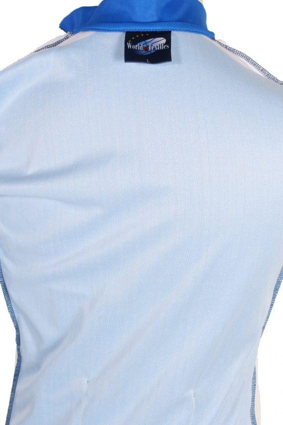 Vintage Wabco World of Textile Short Sleeve L Blue CW0600-88485