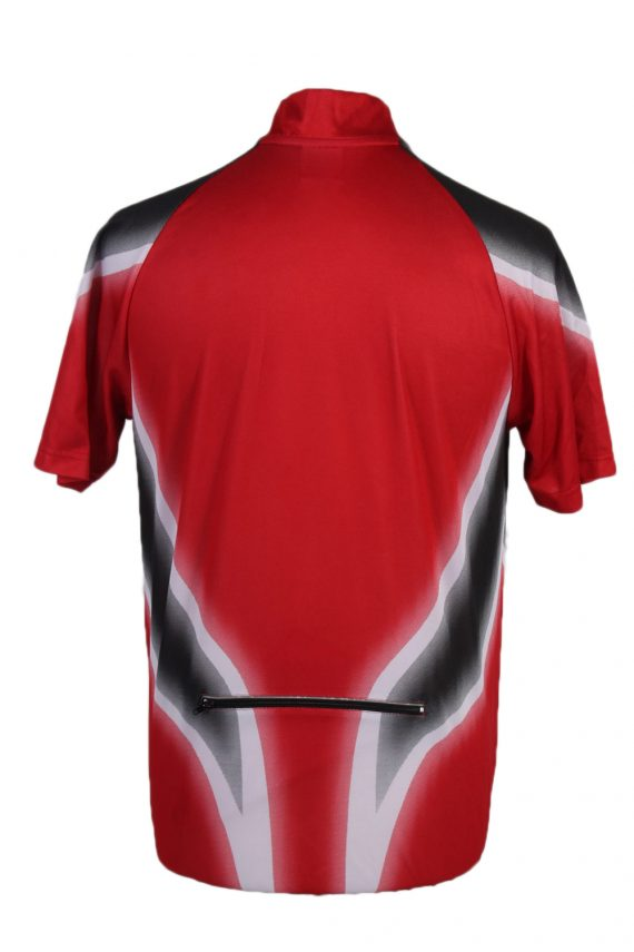Vintage Crane Sports Cycling Short Sleeve Bicycle Jersey Racing S Red CW0648-91391