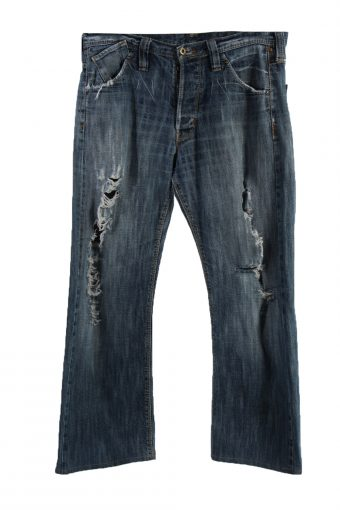 Lee Ripped Dillon Denim Jeans Buggy Mens W34 L30