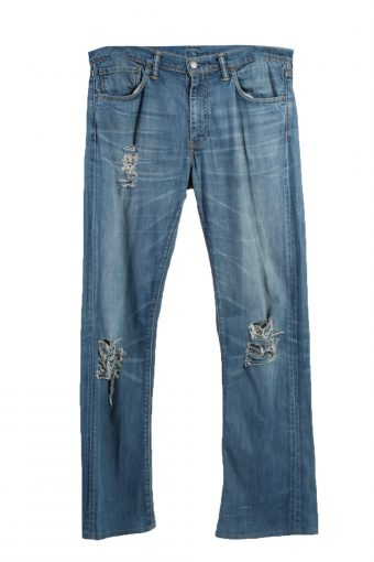 Levi's 527 Lable Ripped Faded Unisex Jeans W36 L36