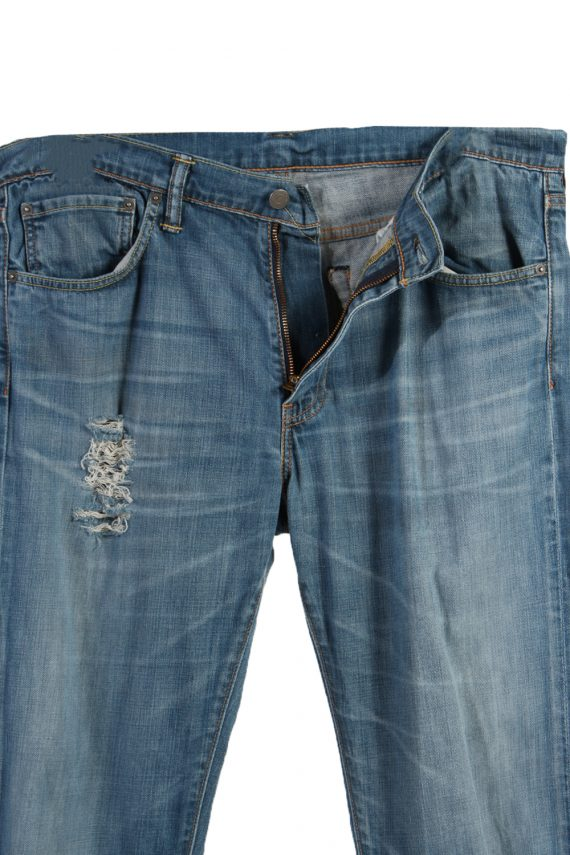 Vintage Levi's 527 Red Lable Ripped Faded Unisex Jeans W36 L36 Blue J3397-87548