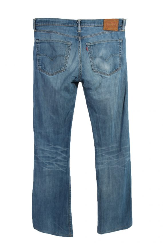 Vintage Levi's 527 Red Lable Ripped Faded Unisex Jeans W36 L36 Blue J3397-87549