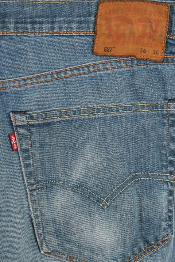 Vintage Levi's 527 Red Lable Ripped Faded Unisex Jeans W36 L36 Blue J3397-87550