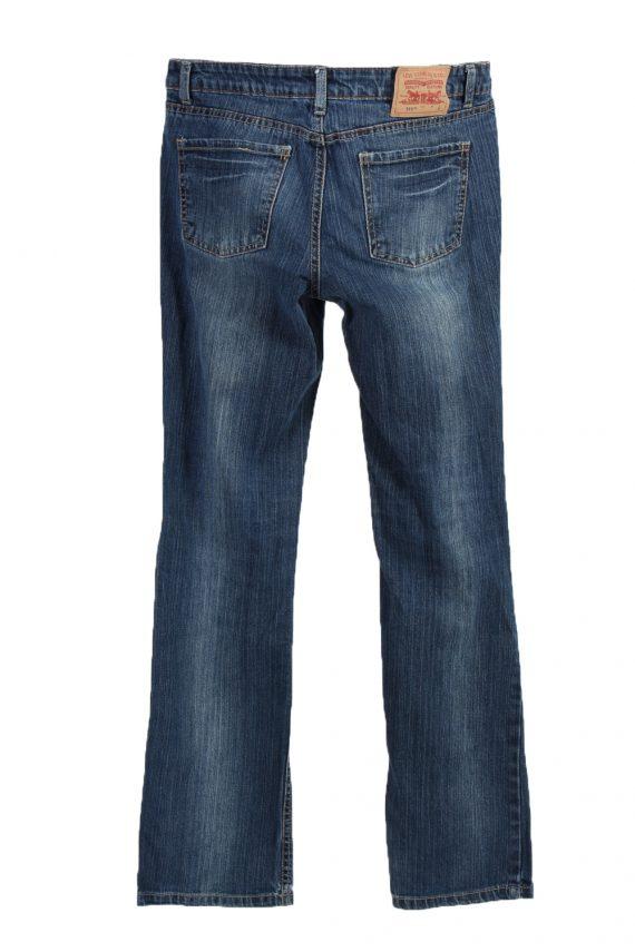 Vintage Levi's 515 Ripped Faded Women Jeans W31 L31 Blue J3409-87585