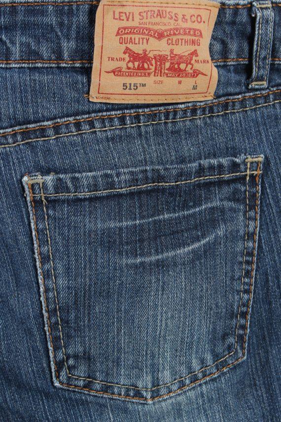 Vintage Levi's 515 Ripped Faded Women Jeans W31 L31 Blue J3409-87586