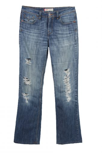 Levi's 467 Ripped Faded Women Jeans 70's 80's 90's W28 L32