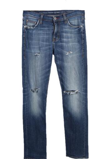 Mustang Vegas Skinny Ripped Faded Women Jeans W34 L31